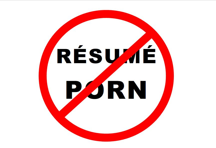 Don't Let Résumé Porn Kill Your Job Search
