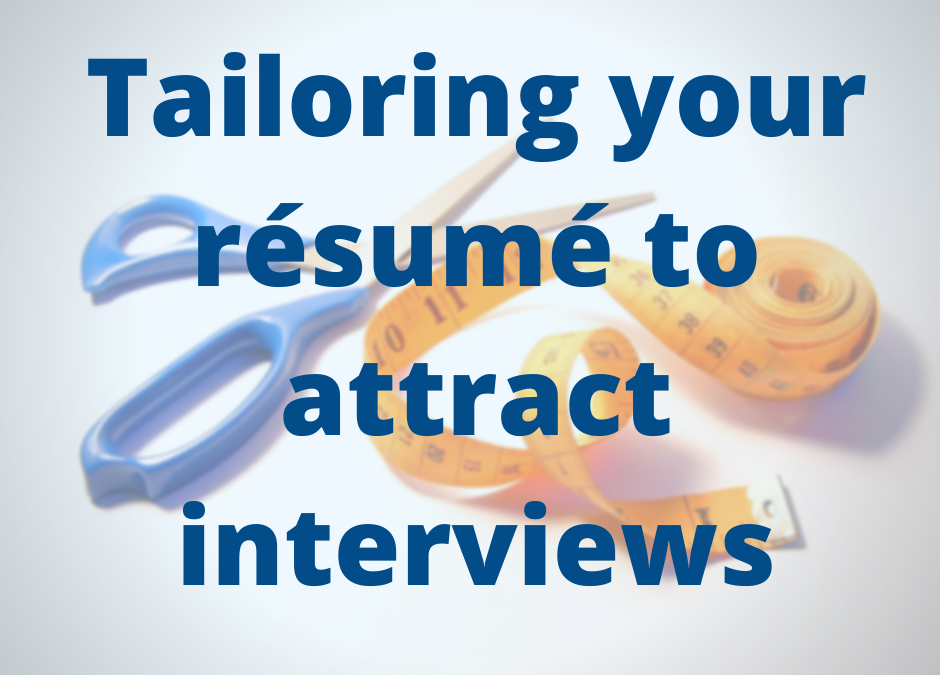 4 Tips on How to Tailor Your Resume to a Job Posting